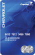 Chevrolet BuyPower Card from Capital One®