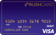 Midnight Prepaid Visa<sup>&#174;</sup> RushCard